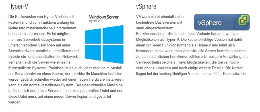 Virtualisierungtext