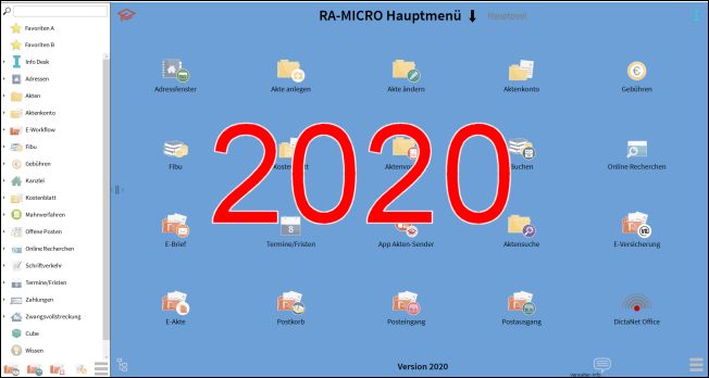 RA-MICRO Jahresversion 2020